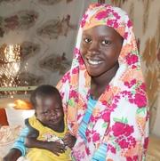 Aysha ,27 years old,a fistula survivor from Blue Nile State, Sudan.