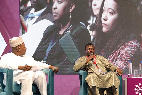 تم الكشف عن بحث جديد في جلسة قمة نيروبي بشأن المؤتمر الدولي للسكان والتنمية 25. © قمة نيروبي