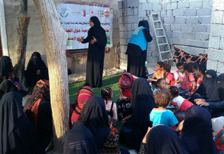 Amidst the chaos of the conflict, women in Yemen have increased vulnerability to gender-based violence. © UNFPA Yemen