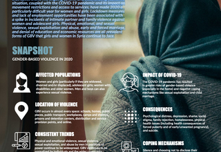 OVERVIEW OF GENDER-BASED VIOLENCE IN SYRIA cover