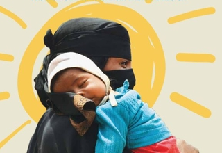 Cover photo of the SAVING THE LIVES OF MOTHERS AND NEWBORNS publication