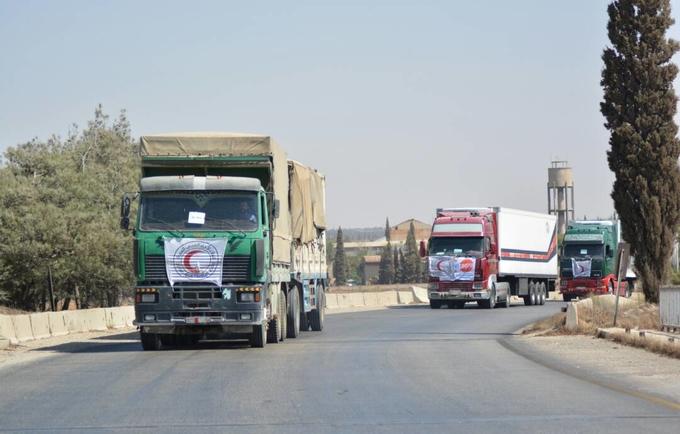 مُساعدات صندوق الأمم المتحدة للسكان تصل مدينة دير الزور للمرة الأولى منذ ثلاث سنوات