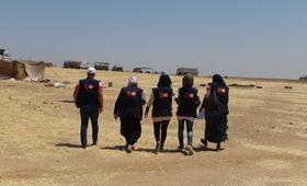 مخيم في سوريا