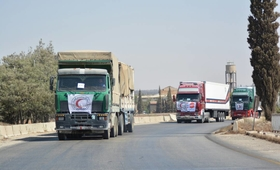 UNFPA aid reaches Deir Ez-Zor City for the first time in three years