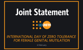 Statement on the International Day of Zero Tolerance for Female Genital Mutilation