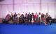 (في الوسط) رئيس جمهورية كينيا، أورورو كينياتا، مع بعض الممثلين رفيعي المستوى، بمن فيهم (من اليسار) المديرة التنفيذية لصندوق الأمم المتحدة للسكان، ناتاليا كانيم، ونائبة الأمين العام، أمينة محمد، بمركز كينياتا الدولي للمؤتمرات  في نيروبي، كينيا، في 12 نوفمبر 2019 ، حيث عُقد المؤتمر الدولي للسكان والتنمية.