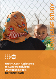 Cover of the Case Study on Cash and Voucher Assistance in Northwest Syria
