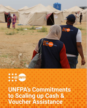 cover of the UNFPA Commitments to Scaling up Cash and Voucher Assistance